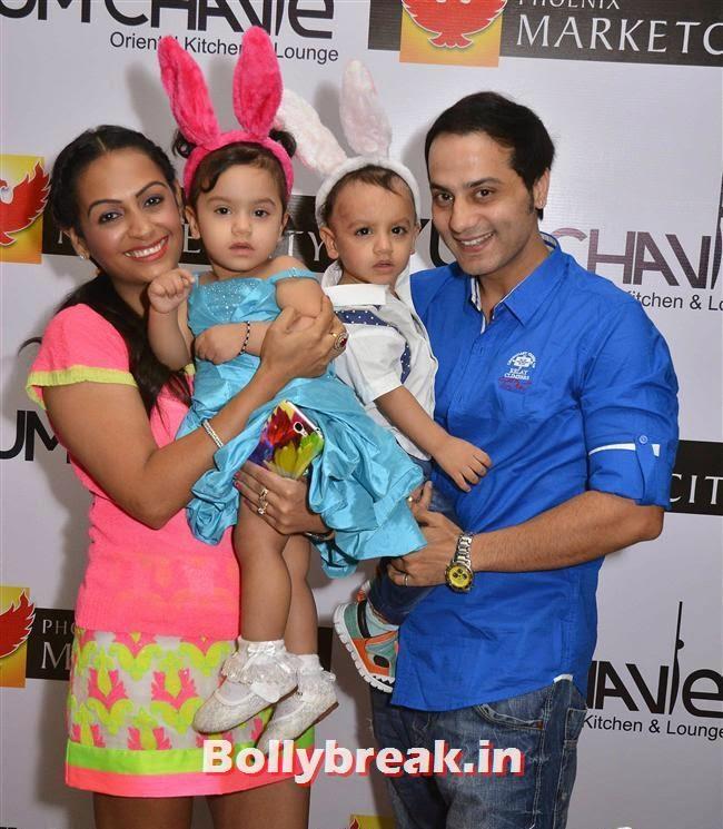 Ashita Dhawan, Crystal, Mouli & Mouni  at Easter Celebrations