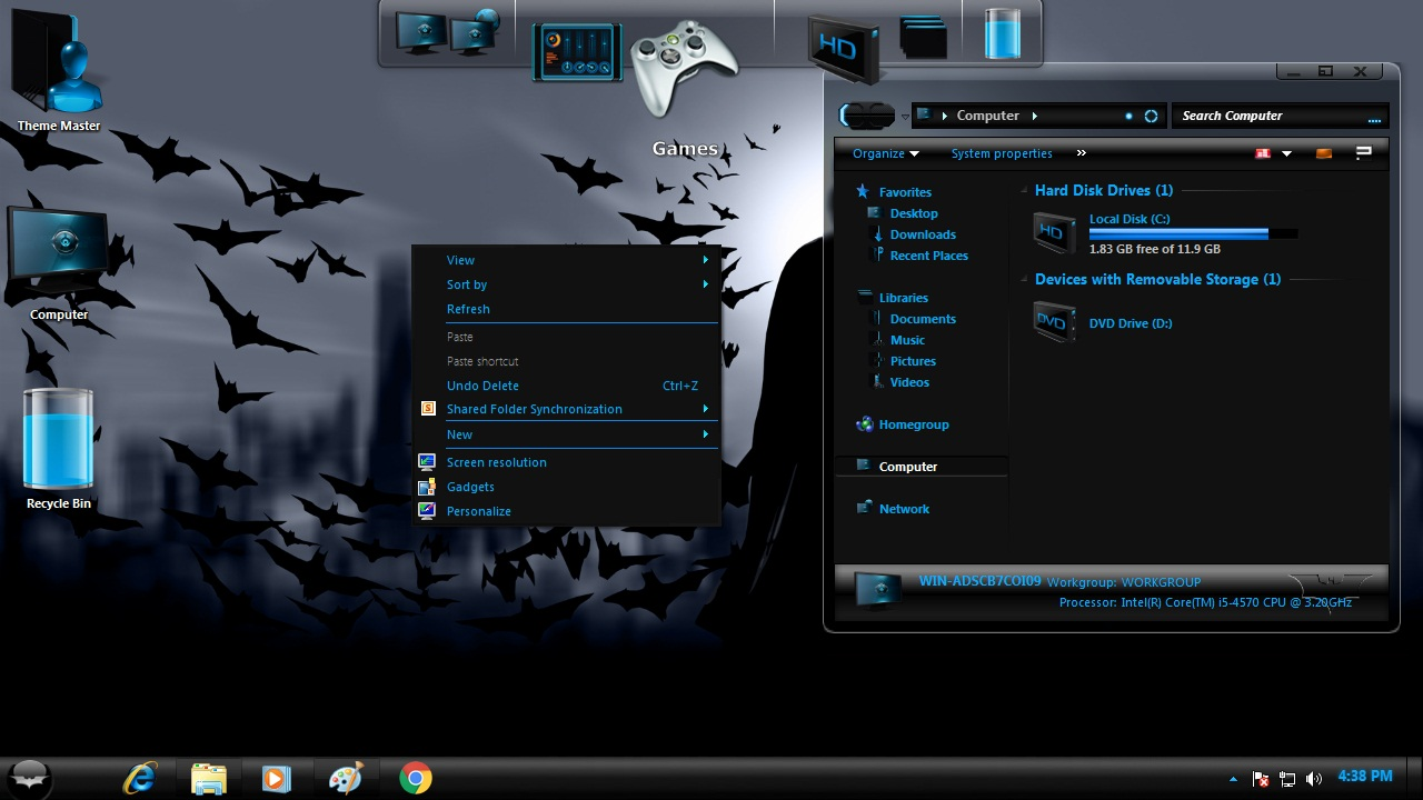 How to install Batman Gotham Transformation Pack on Windows 7