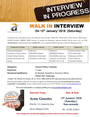 Interview details on