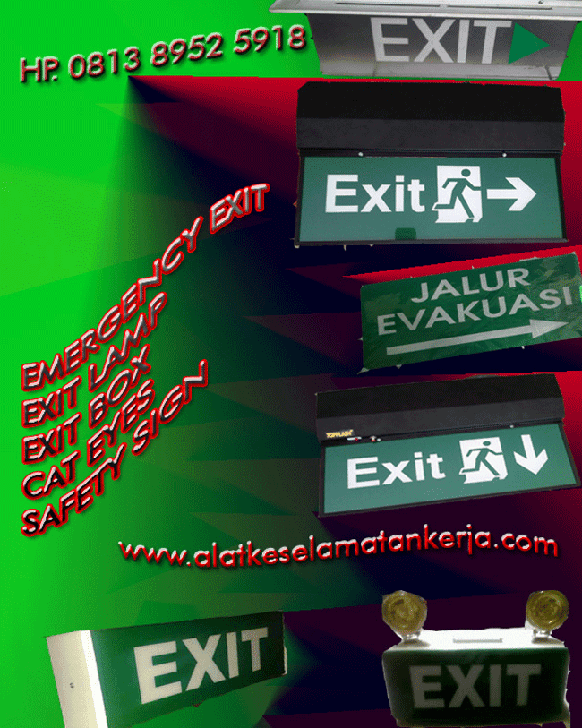 product emergency Exit Lamp | Exit sLim| Exit Box