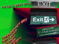 EMERGENCY EXIT LAMP | EXIT SLIM | EXIT BOX