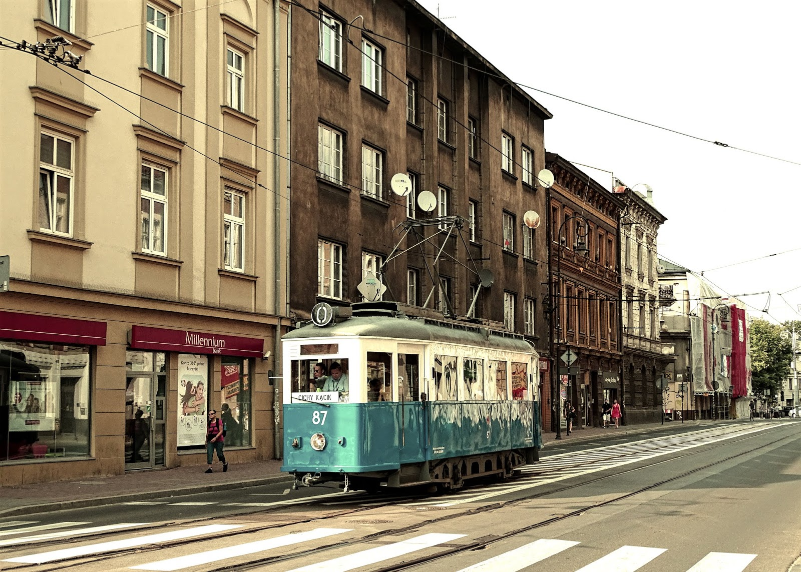 Stary krakowski tramwaj