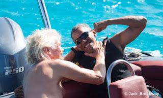Barack Obama, Richard Branson, White House, Donald Trump, Moskito Island, Foreign