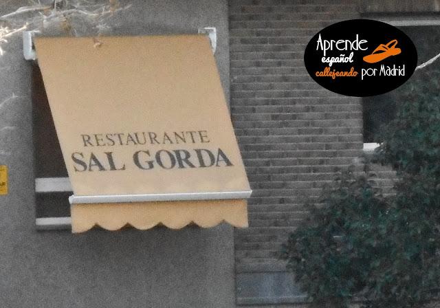 Aprende español callejeando por Madrid: ¡Qué fisno!