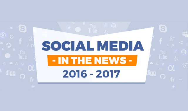 Social Media in the News 2016 – 2017