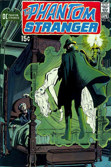 Phantom Stranger v2 #12 - 1970s dc horror comic book cover art by Neal Adams