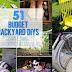 50+  Budget Backyard DIYs That Are Borderline Genius