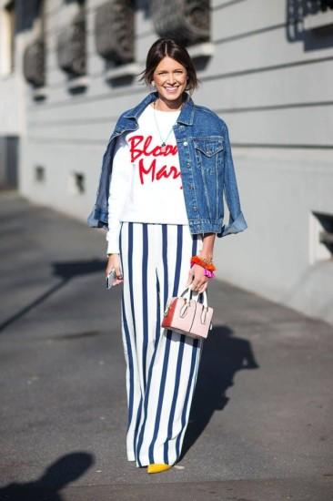 giubbino jeans outfit giubbino jeans come abbinare il gubbino di jeans tendenze autunno 2016 fashion moda fashion blog italiani street style mariafelicia magno colorblock by felym