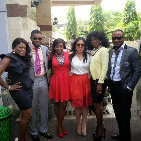 nollywood visit aso rock