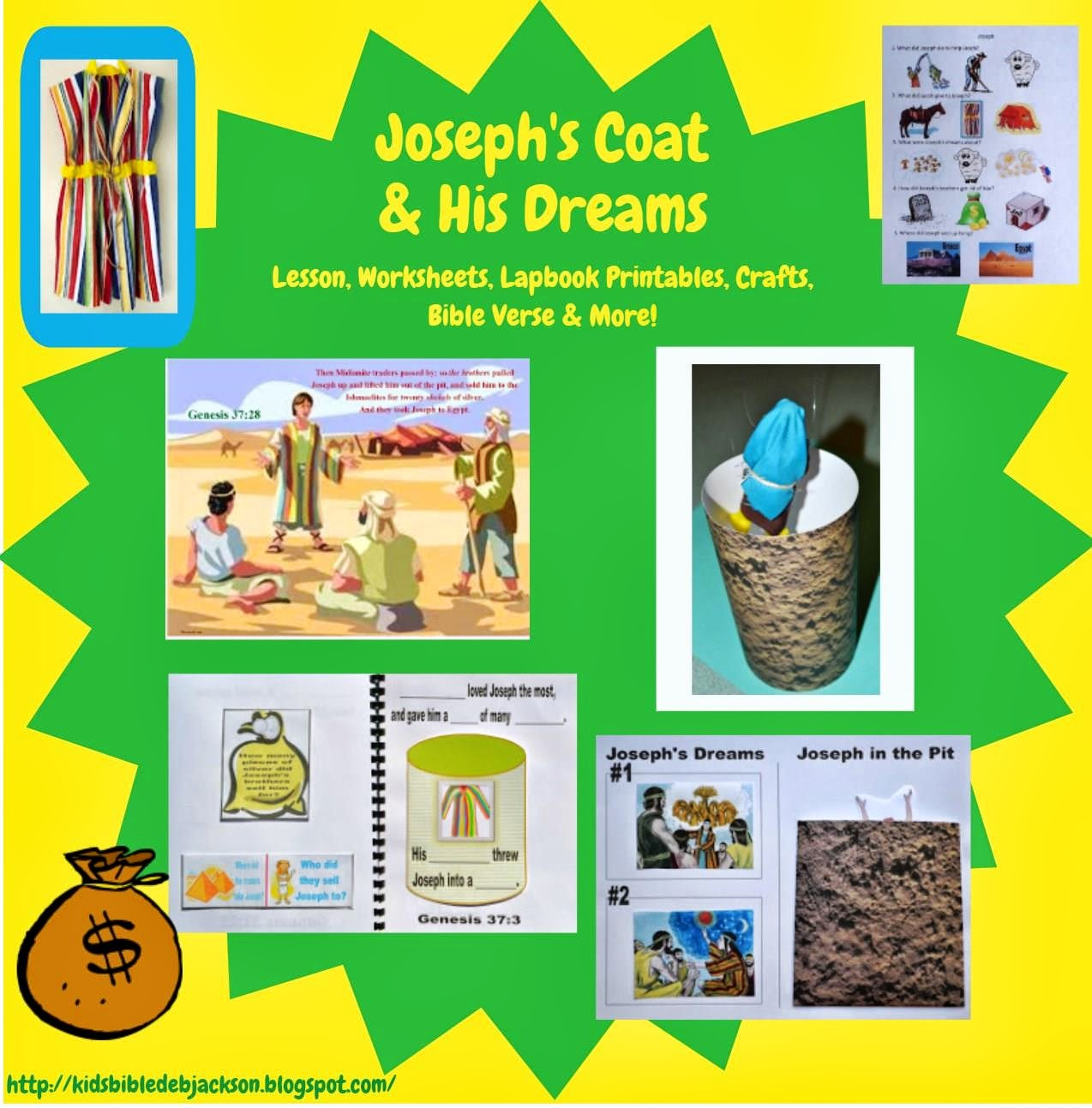 Bible Fun For Kids Genesis Joseph S Dreams And His