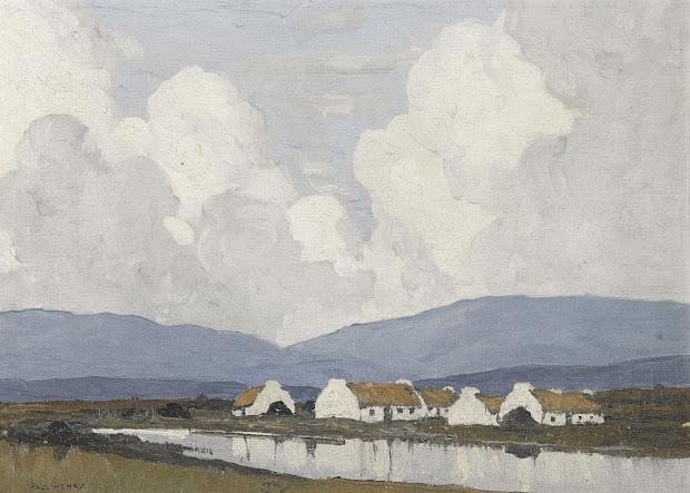 Paul Henry . Post-impressionist Landscape Genre