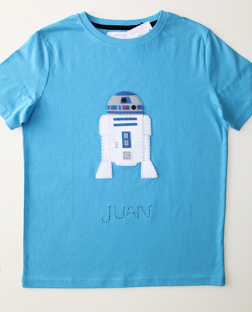 camiseta starwars r2d2