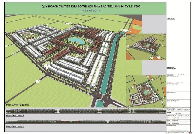 Phối cảnh dự án KOSY Ninh Bình