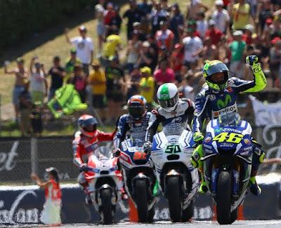Rossi: Kemenangan Ini untuk Luis Salom