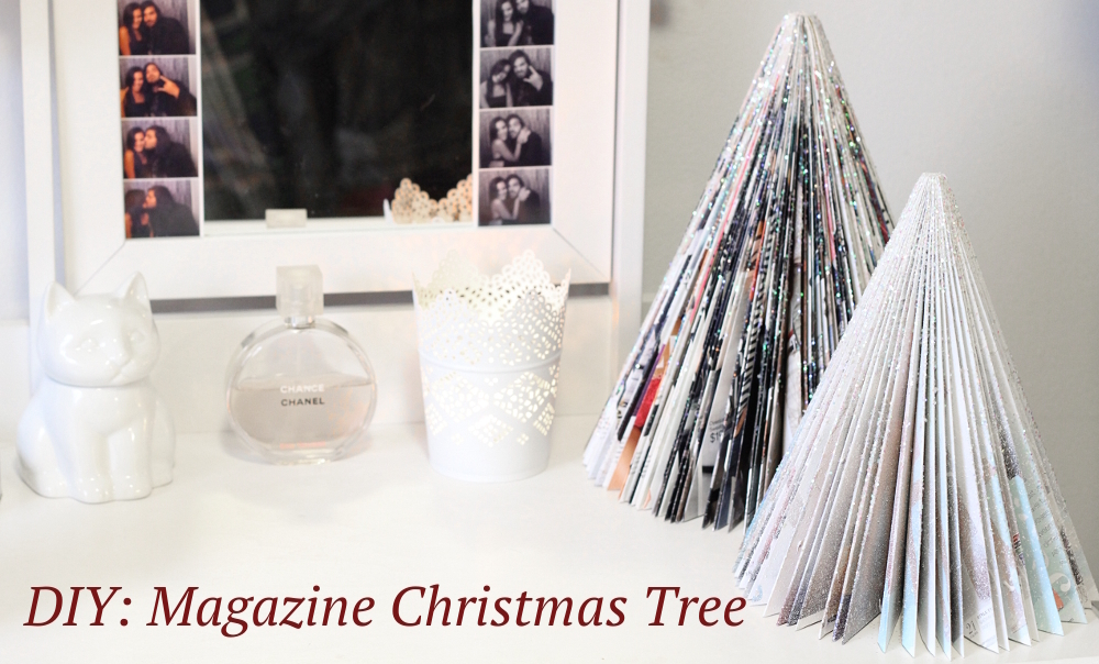 DIY: Magazine Christmas Tree