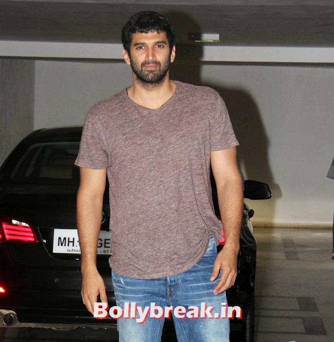 Aditya Roy Kapoor, Karan Johar Birthday Party Pics 2014
