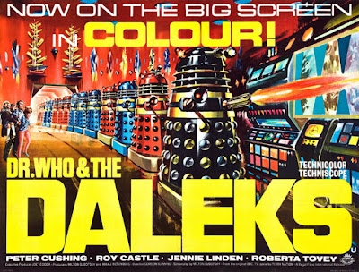 Dr. Who And The Daleks film poster