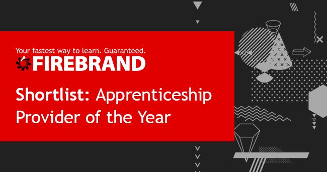 firebrand shortlisted for digital apprenticeship provider