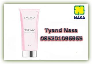 Jual Lacoco Watermelon Glow Mask, Masker Lacoco Tanpa Bilas