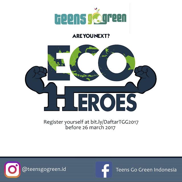 Dibuka Pendaftaran Anggota Baru Teens Go Green Batch 2017