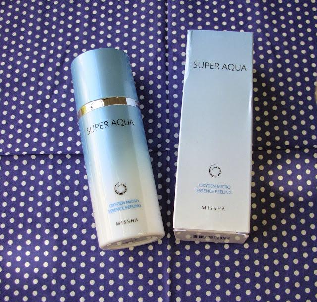 MISSHA super Aqua Oxygen Micro Essence Peeling отзыв