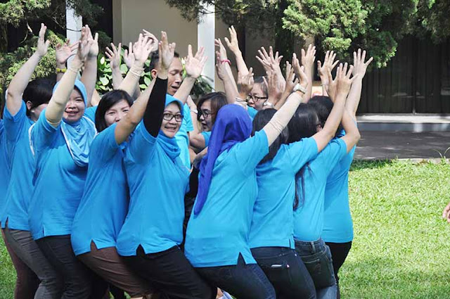 Paket Fun Games Team Building