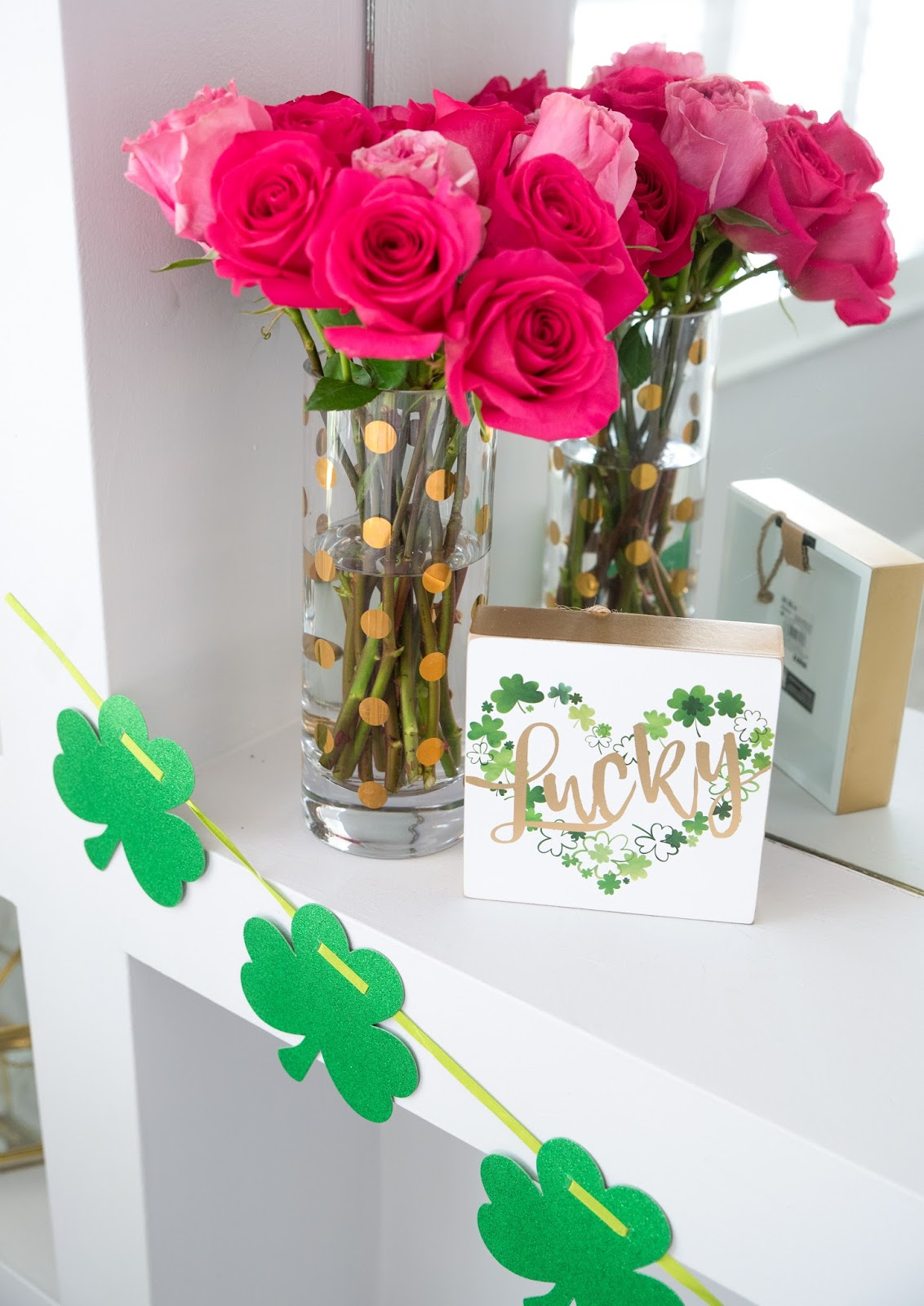 Girly St Patricks Day Party by popular party blogger The Celebration Stylist