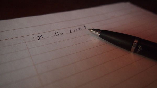 Imagem 'to do list'