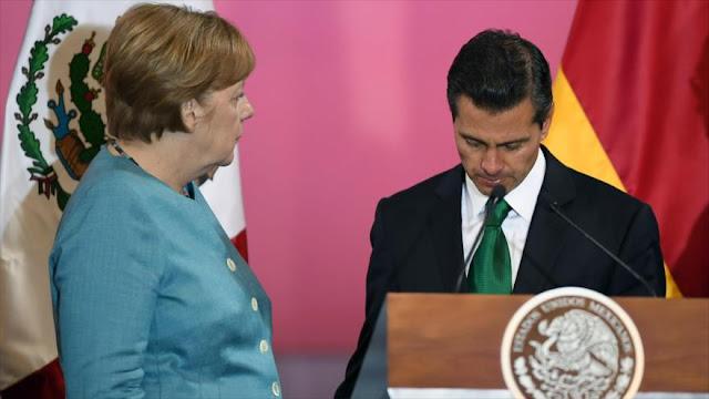 Merkel celebra esfuerzos de México para proteger a periodistas