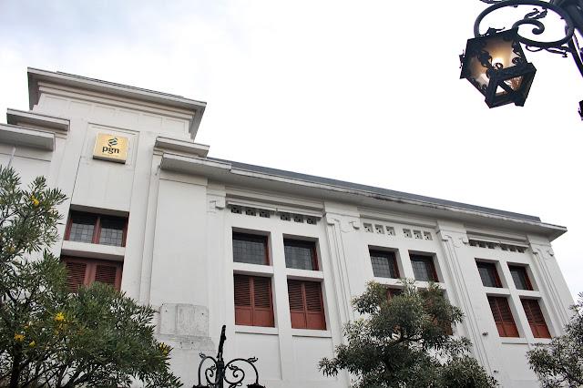 Art Deco buildings in Bandung