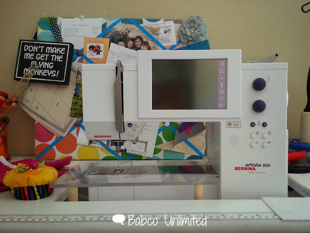 BabcoUnlimited.blogspot.com - Sewing with Bernina Sewing Machine
