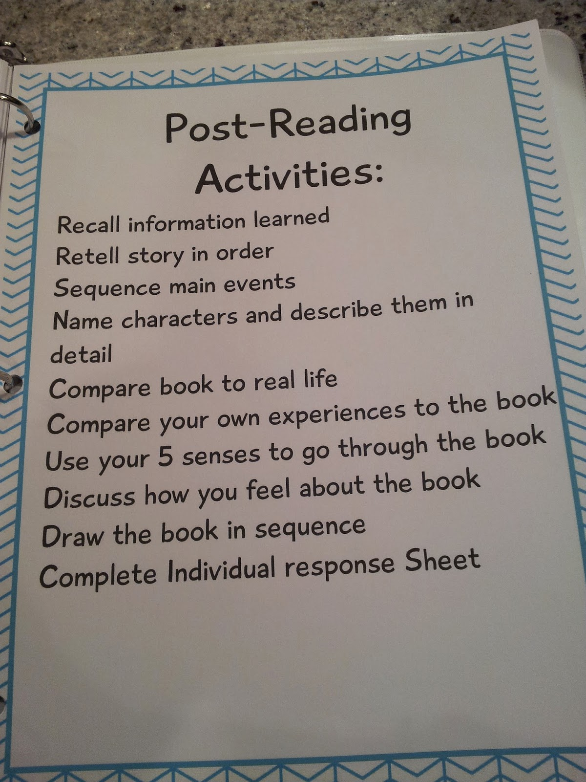 The Crazy Pre K Classroom Individual Guided Reading