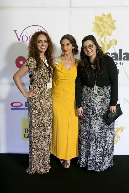 Lubna Dawood, Natasha Faruque and Deepa Narwani, Masala! Awards 2014 Photo Gallery