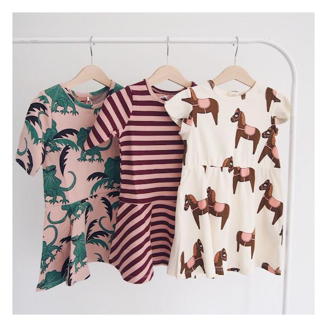 Mini Rodini SS18 Horse dress draco dress
