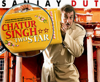 Poster Of Bollywood Movie Chatur Singh Two Star (2011) 300MB Compressed Small Size Pc Movie Free Download worldfree4u.com