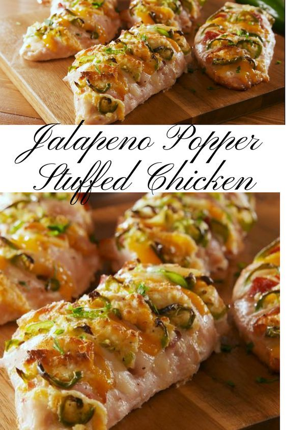 Jalapeno Popper Stuffed Chicken Recipe