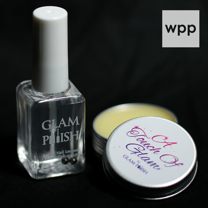 GLAM Polish Top Coat and Cuticle Balm