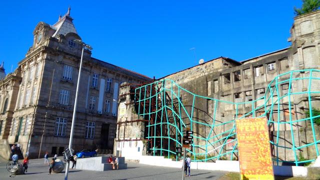 Estación Bento en Oporto