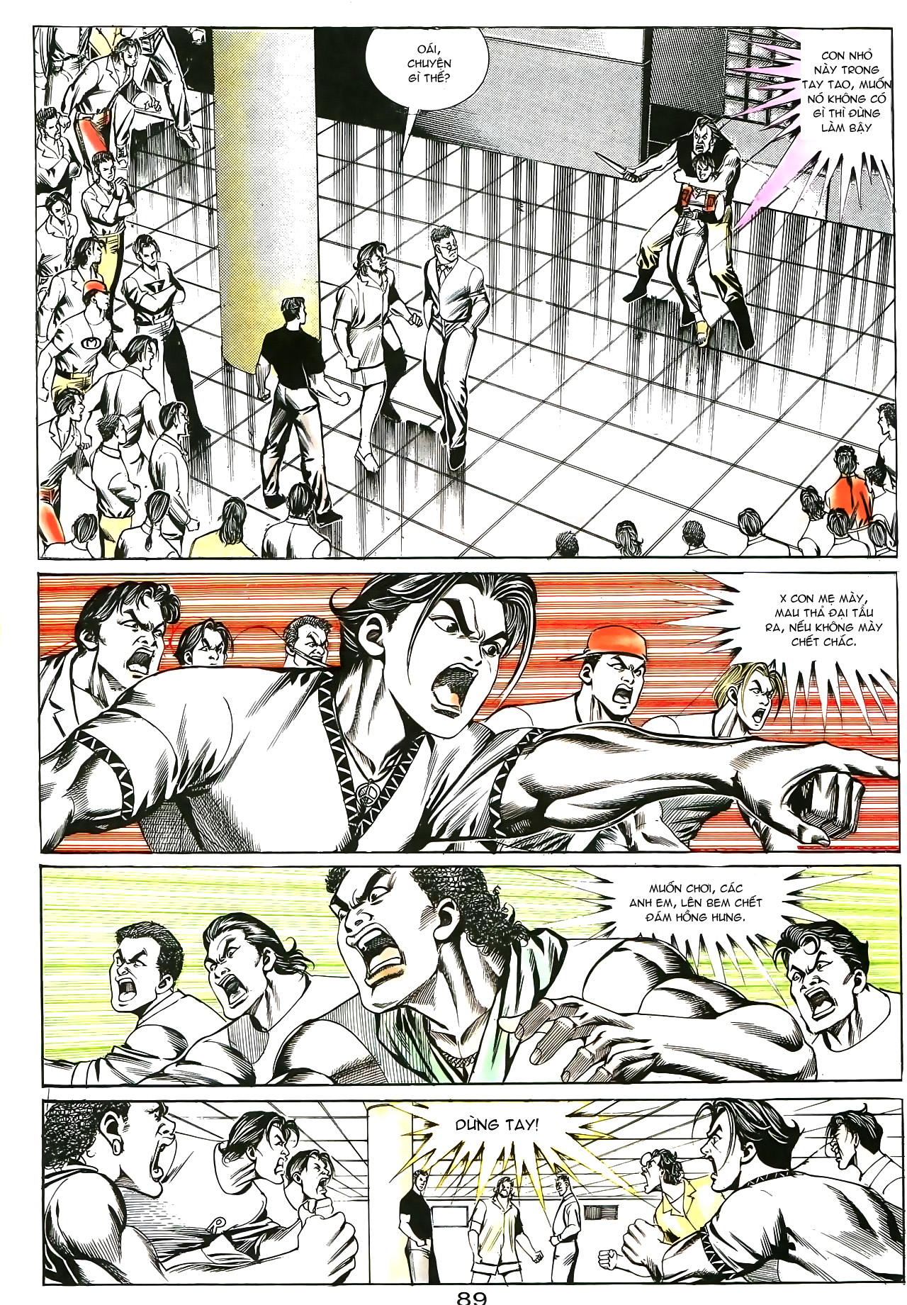 Người Trong Giang Hồ chapter 176: lật thua thành thắng trang 26
