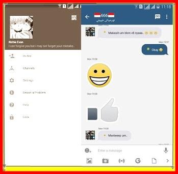 BBM Mod Instagram v2.13.1.14 Apk Terbaru