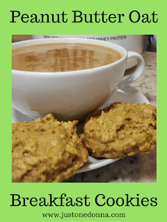 Peanut Butter Oat Breakfast Cookies
