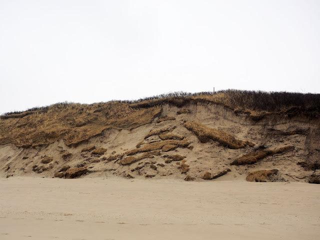 Langeoog, Dünenabbruch, Küstenschutz, Dünen