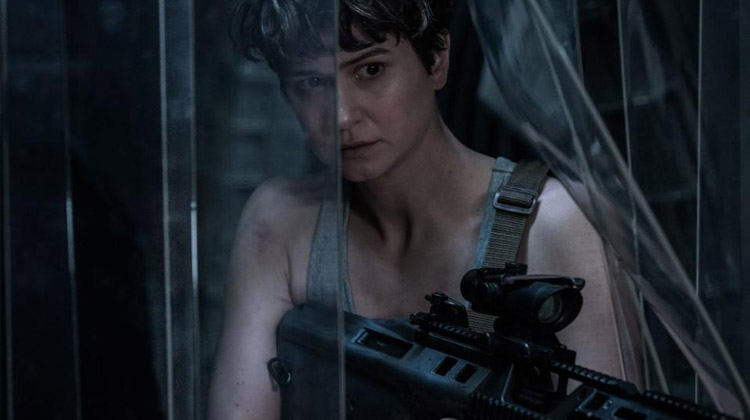 Katherine Waterston en Alien: Covenant