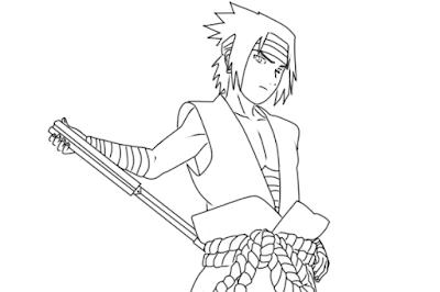 sasuke uchiha black costume