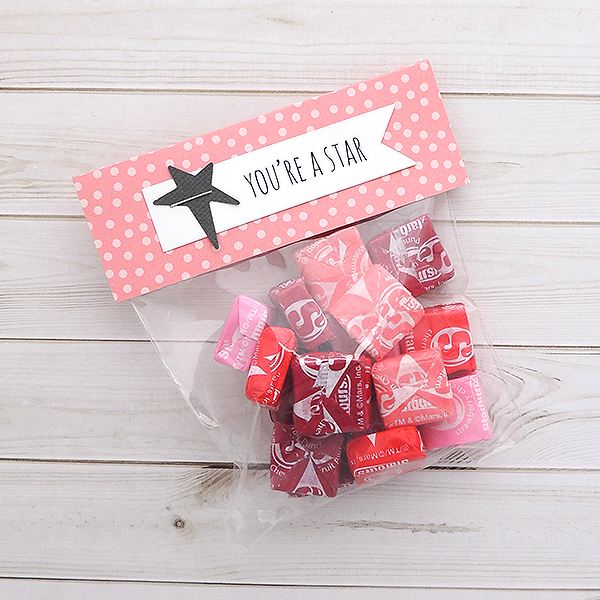 DIY Valentine Treat Bags