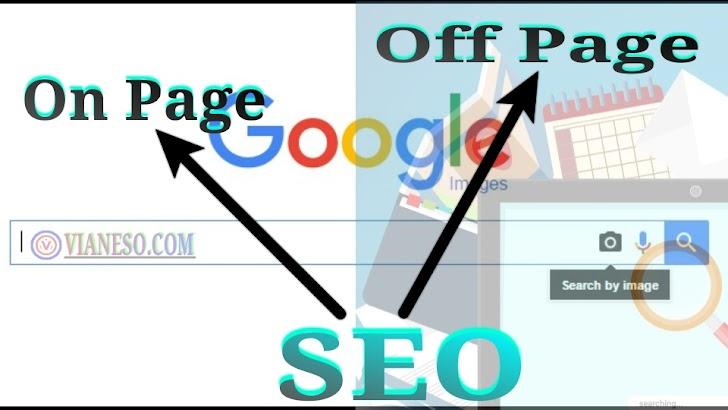 Optimisasi Dengan Seo On Page Dan  Off Page