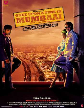 Once Upon a Time in Mumbai 2010 Hindi 550MB BluRay 720p ESubs HEVC Watch Online Free Download downloadhub.in
