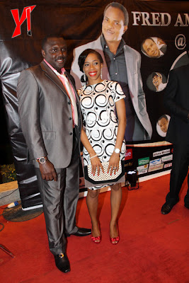 Pictures from Fred Amata's 50th birthday