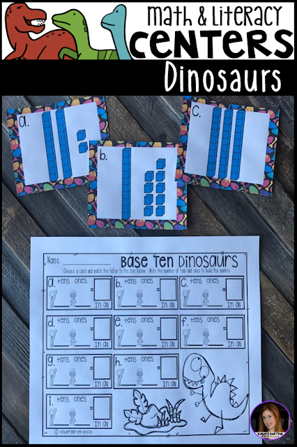 They will continue to work on tens and ones with Base Ten Dinosaurs.
