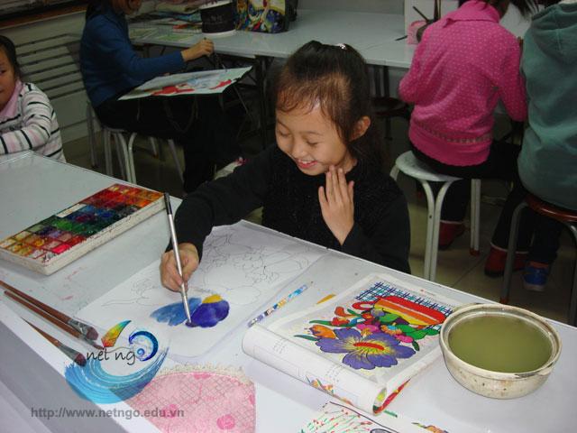 Lớp học vẽ cho thiếu nhi tại Bình Thạnh TP HCM
